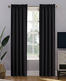 "Sun Zero Oslo 52"" x 84"" Theater Grade 100% Blackout Rod Pocket Curtain Panel"