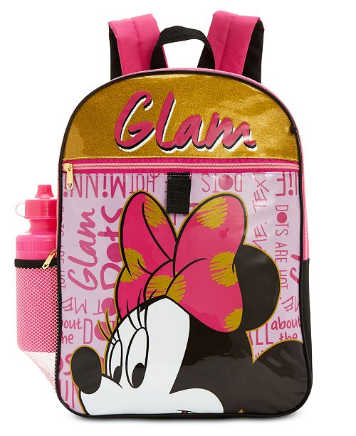 bf9fbb61f1b Minnie Mouse Disney s® 5-Pc. Backpack   Accessories Set, Little ...