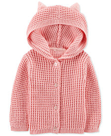 Carter's Baby Girls Hooded Cardigan