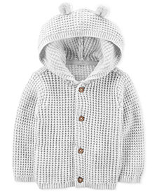 Carter's Baby Boys & Baby Girls Hooded Cardigan