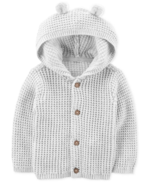 Carters Baby Boys  Baby Girls Hooded Cardigan