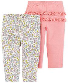 Carter's Baby Girls 2-Pk. Cotton Leggings