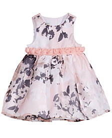 Marmellata Baby Girls Rosette-Waist Dress