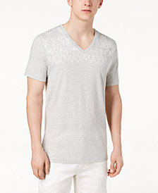 A|X Armani Exchange Men's V-Neck Logo T-Shirt