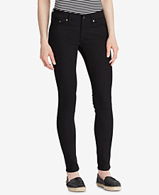 Lauren Jeans Co. Petite Super-Stretch Skinny Jeans