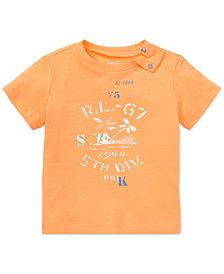 Ralph Lauren Cotton Jersey Graphic T-Shirt, Baby Boys & Baby Girls