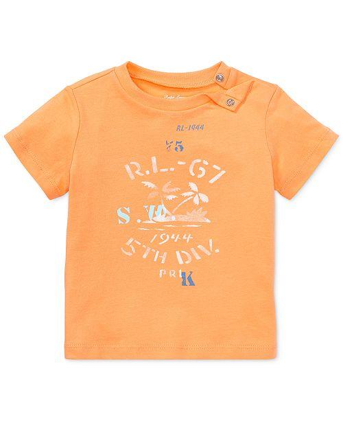 ef6799d4293cc ... Polo Ralph Lauren Ralph Lauren Cotton Jersey Graphic T-Shirt