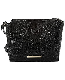 Carrie Melbourne Embossed Leather Crossbody