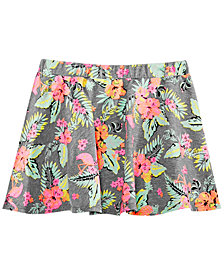 Epic Threads Little Girls Tropical-Print Scooter Skirt, Created for Macy's