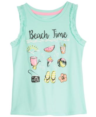 Toddler Girls Beach Time Tank Top, Created for Macy's