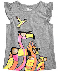 Epic Threads Toddler Girls Bird-Print T-Shirt, Created for Macy's