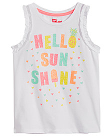 Epic Threads Toddler Girls Graphic-Print Ruffle-Sleeve Tank Top, Created for Macy's