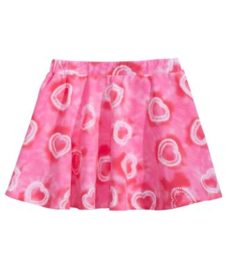 Toddler Girls Tie-Dyed Scooter Skirt, Created for Macy's