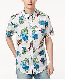 American Rag Men's Tropical Linen Shirt, Created for Macy's