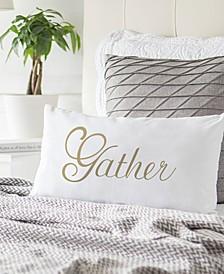 """Gather 9"""" x 18"""" Lumbar Decorative Pillow"""