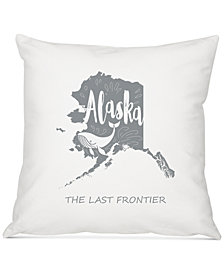 "Cathy's Concepts My State 16"" Square Decorative Pillow"