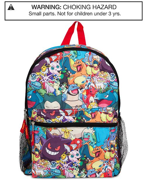 db5bab1aa9ed Pokemon Pokémon Little   Big Boys Backpack - All Kids  Accessories ...