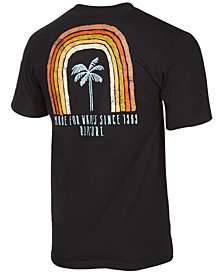 Rip Curl Men's Palm Tree Graphic T-Shirt