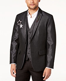 I.N.C. Men's Slim-Fit Embellished Blazer, Created for Macy's