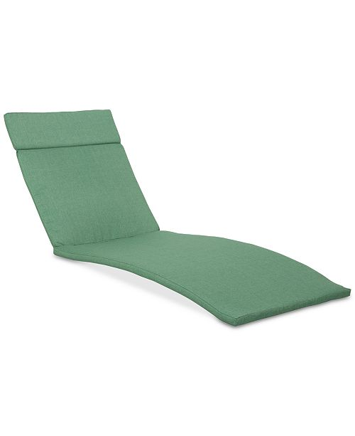noble house thome outdoor chaise lounge cushion quick ship