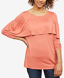Jessica Simpson Tiered Nursing Top
