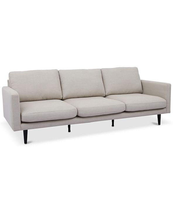 """Furniture LIMITED AVAILABILITY Lodie 90"""" Fabric Sofa"""