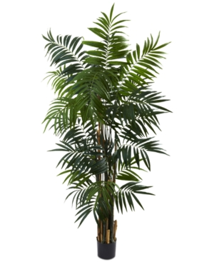 Nearly Natural 6 Artificial Bulb Areca Palm Tree