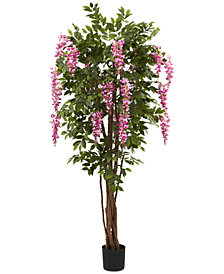 Nearly Natural 6.5' Artificial Wisteria Tree
