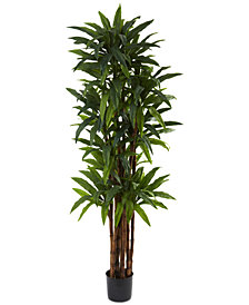 Nearly Natural 6.5' Artificial Dracaena Tree