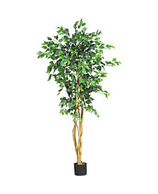 Nearly Natural 5' Artificial Ficus Tree