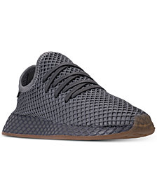 adidas Big Boys' Deerupt Runner Casual Sneakers from Finish Line