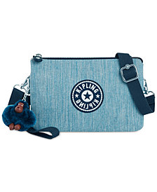 Kipling Ansen Denim Convertible Crossbody