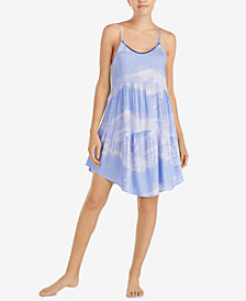 Layla Striped Sleeveless Short Chemise