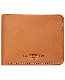 Levi's® Men's Leather Slimfold Wallet