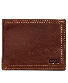 Levi's® Men's RFID Leather Traveler Wallet