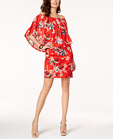 Thalia Sodi Printed Convertible Dress, Created for Macy's