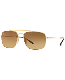 Ray-Ban Polarized Sunglasses, RB3560 THE COLONEL