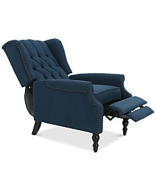 Charles Fabric Recliner, Quick Ship