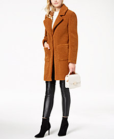 French Connection Faux-Fur Walker Coat