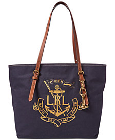 Lauren Ralph Lauren Medium Seabrook Tote