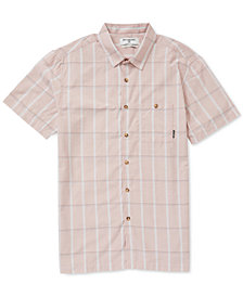 Billabong Men's Donny Plaid Pocket Shirt