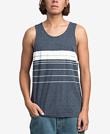 RVCA Men's Lenix Stripe Tank