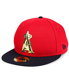 New Era Los Angeles Angels Golden Finish 59FIFTY FITTED Cap