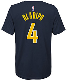 Nike Victor Oladipo Indiana Pacers Icon Name and Number T-Shirt, Big Boys (8-20)