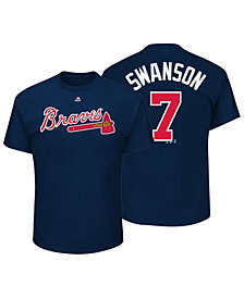 Outerstuff Dansby Swanson Atlanta Braves Official Player T-Shirt, Toddler Boys (2T-4T)