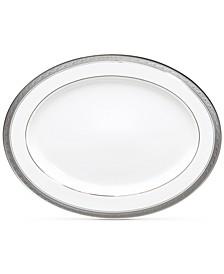 Crestwood Platinum Oval Platter