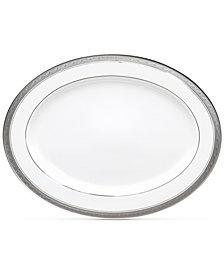 Noritake Crestwood Platinum Oval Platter