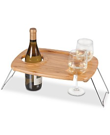 Legacy® by Picnic Time Mesavino Portable Wine Table