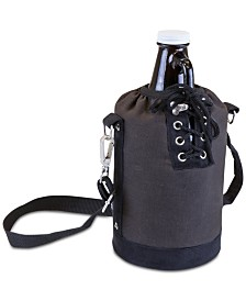 Legacy® by Picnic Time Insulated Gray & Black Growler Tote