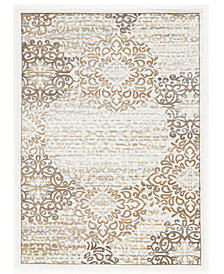 "CLOSEOUT! KM Home Teramo Intrigue 3' 3"" x 4' 11"" Area Rug"